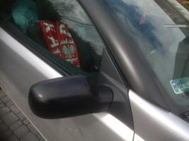 Oklejanie dachu samochodu osobowego - słupek A