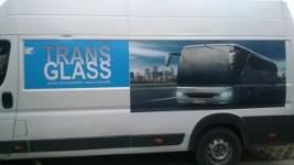 Reklama na pojeździe typu VAN/BUS